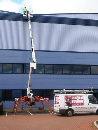 High Level Access Equipment by Practical Roofing